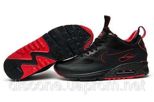 Кроссовки мужские Nike Air Max 90, черные (11863), р. 41 42 44 45