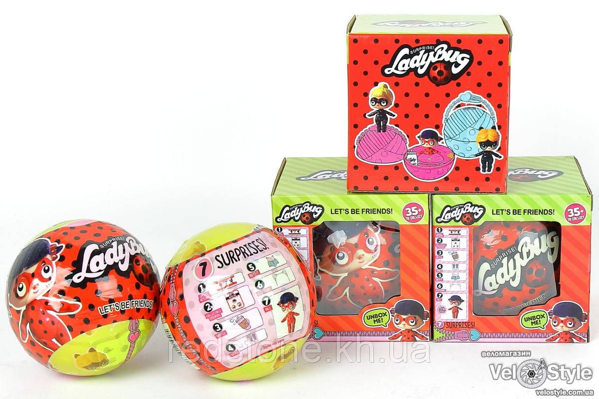 Кукла L.O.L. Doll LADY BUG ЛОЛ Леди Баг сюрприз в шарике