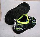 Текстильные мокасины-кроссовки, 18,5 см, фото 3