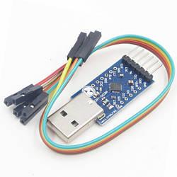 USB CP2104 CP2102 - UART TTL 6pin адаптер, Arduino