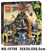 Конструктор Bela 10798 Ninjago Movie ниндзяго муви Логово Гармадона в жерле вулкана 554 дет, фото 1
