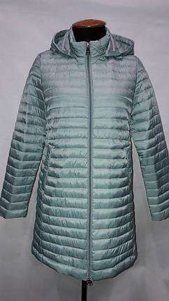 """""""Яблоко""""-демисезонная куртка 8065 В голубой, фото 2"""