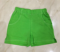 Детские шорты для девочки хлопковые рост 104