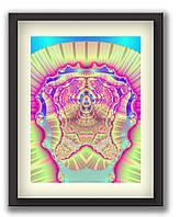 """Картины в офис с сообщением подсознанию """"Храм Процветания"""" 45х60 см, 1"""