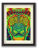 """Картины в офис с сообщением подсознанию """"Храм Процветания"""" 45х60 см, 2"""