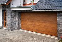 Гаражные секционные ворота пружинами растяжения RSD01 3000\2500мм