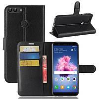 Чехол Huawei P Smart / Enjoy 7S / FIG-LX1 / FIG-LA1 / FIG-LX2 книжка PU-Кожа черный