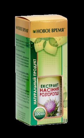 Экстракт семян расторопши, 100 мл- при варикозе, геморрое