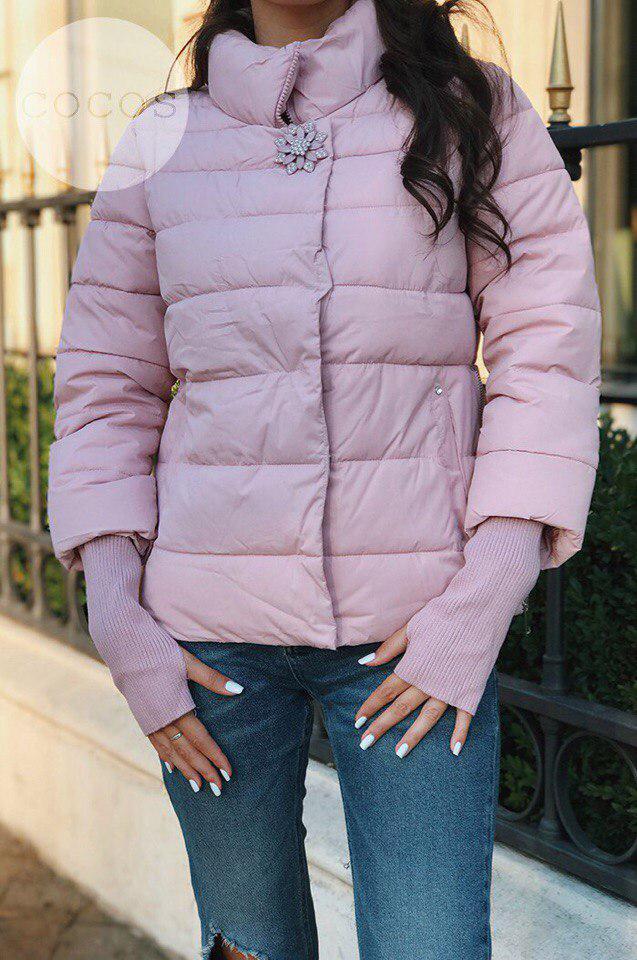e35ff5109d4 Женская куртка с брошкой   продажа