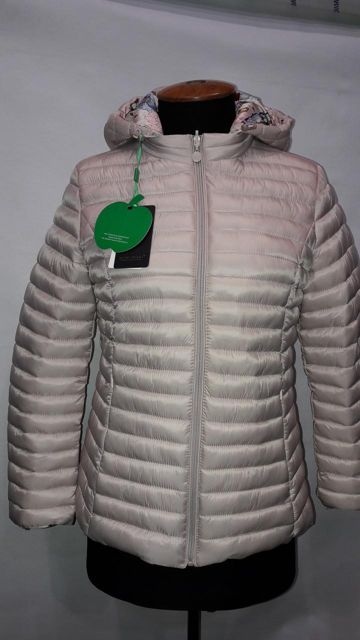 """""""Яблоко""""-демисезонная куртка 317 В жемчуг"""