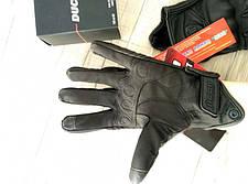 Кожаные мото перчатки Icon Pursuit, фото 3