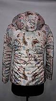 """""""Яблоко""""-демисезонная куртка 317 В жемчуг, фото 3"""
