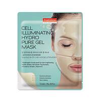 Гидрогелевая маска для сияния кожи Purederm Illuminating Hydro Pure Gel Mask