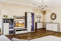 Модульная система для гостиной «Омега» Мир Мебели