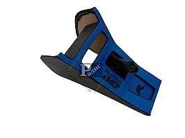 Консоль под магнитолу ВАЗ 2103, 2106 (синяя)
