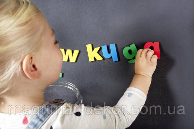 Магнитная краска в детской
