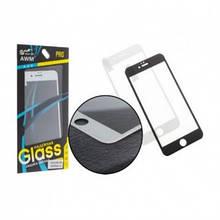 Захисне скло 3D для iPhone 7+ /black(blue glass)