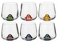 Islands Color Набор стаканов низких 6 штук 310мл богемское стекло Bohemia