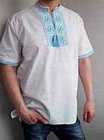 Вышиванка мужская с коротким рукавом 225, фото 1
