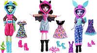 Новые куклы  Monster High - Howling Hoodies (2018 год новинки)