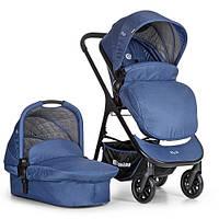 Детская коляска 2 в 1 (люлька и прогулка)  , ME 1014-4 EVE синяя