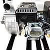 Мотопомпа 500 л/мин, 7 м всасывание, 23 м подача, для чистой и грязной воды, осушения и водоснабжения, Bavaria, фото 6