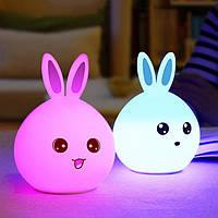 Детский ночник Rabbit LED/Милый Кролик . Хит продаж.Отличный подарок