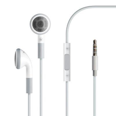 Наушники с микрофоном Apple Earphones with Remote and Mic White оригинальные