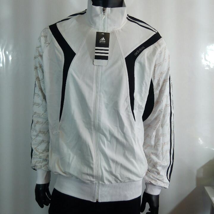 518f5a0e3d08 Мужские спортивные костюмы Адидас белая кофта трикотаж двунитка - Интернет- магазин