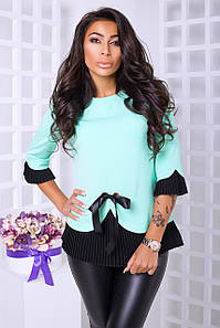 Элегантная блуза с 42 по 50 размер