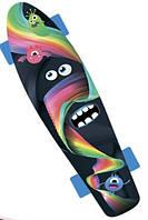 """Скейтборд """"GO Travel"""" с рисунком Монстрик 56 cм"""