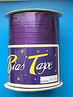 Косая бейка фиолет