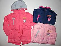 Курточка демисезонная для девочек на флисовой подкладке Grace , 86-116 рр.