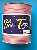 Косая бейка розовая