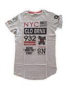 Подростковая футболка для мальчиков 140-158 р.