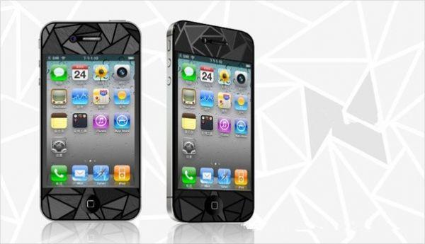 Защитная пленка для apple iphone 5 5s 3 D