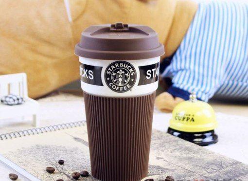 Кружка чашка Starbucks кофе чай
