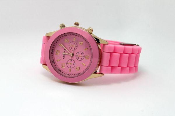 Наручные часы Geneva розовый цвет