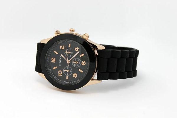 Наручные часы Geneva черный цвет