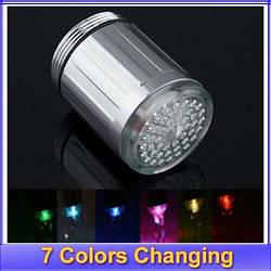 Насадка на кран LED подсветкой