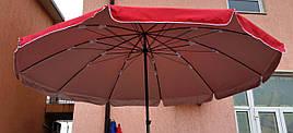Зонт садовый, торговый, круглый, с напылением, 3.2 м, мод-106