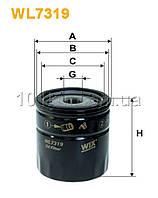 Фильтр масляный WIX WL7319 (OP 566/2)