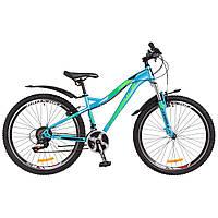 Женский Велосипед 26 Formula ELECTRA голубой с зеленым 2018