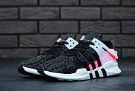 Женские кроссовки Adidas EQT black (реплика), фото 1