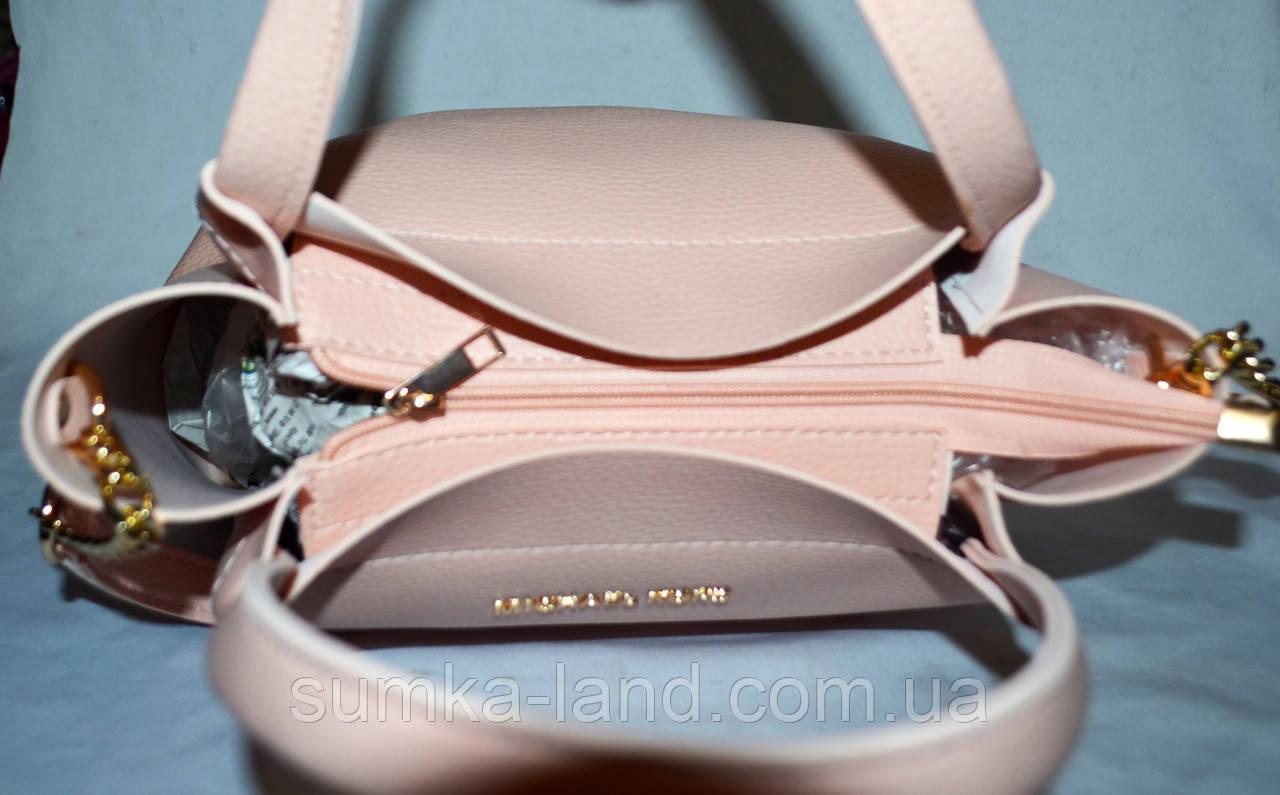 022838200a6f Женская пудровая сумка Michael Kors 26 25 см  продажа, цена в ...