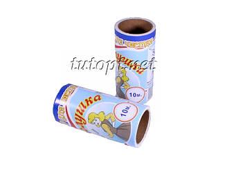 Запаска для ролика-липучки Золушка для чистки одежды 2 штуки по 10 метра