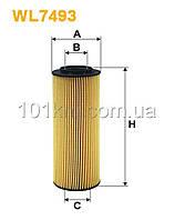 Фильтр масляный WIX WL7493 (OE 674/7)