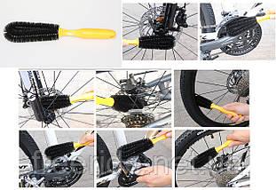 Набор для мойки обслуживания чистка велосипеда (6 предметов), фото 3