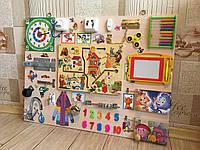 """Развивающая игрушка """"Бизиборд"""" 60*80 см подарок на годик"""