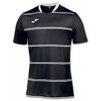 Футболка черная игровая Joma STANDARD 100159.100